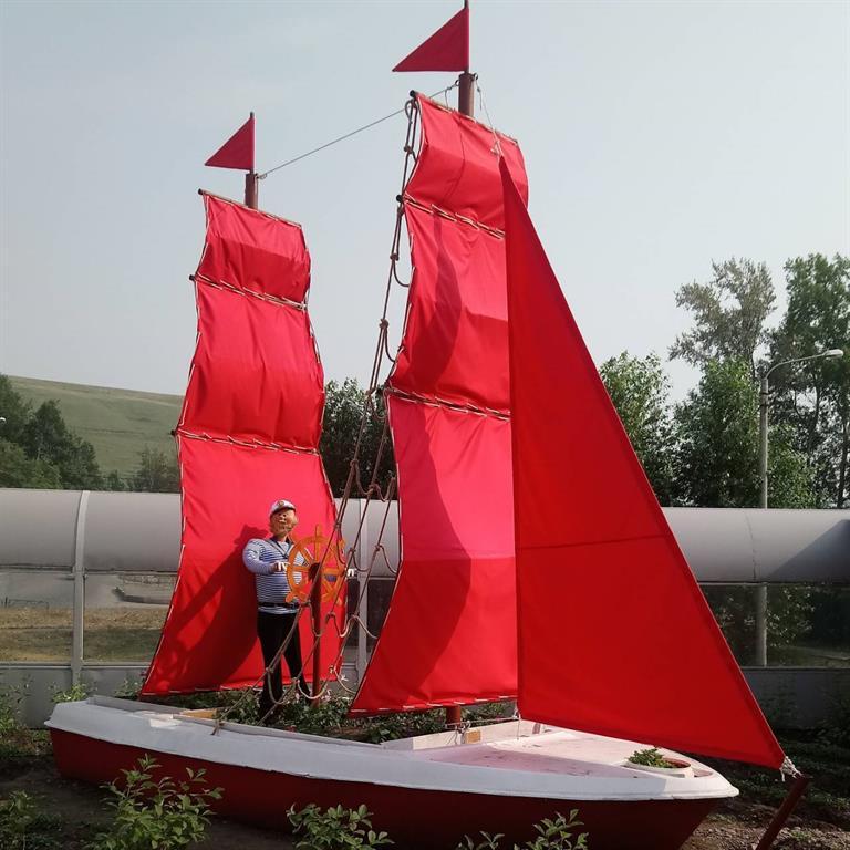 Корабль с алыми парусами появился в красноярском детском саду