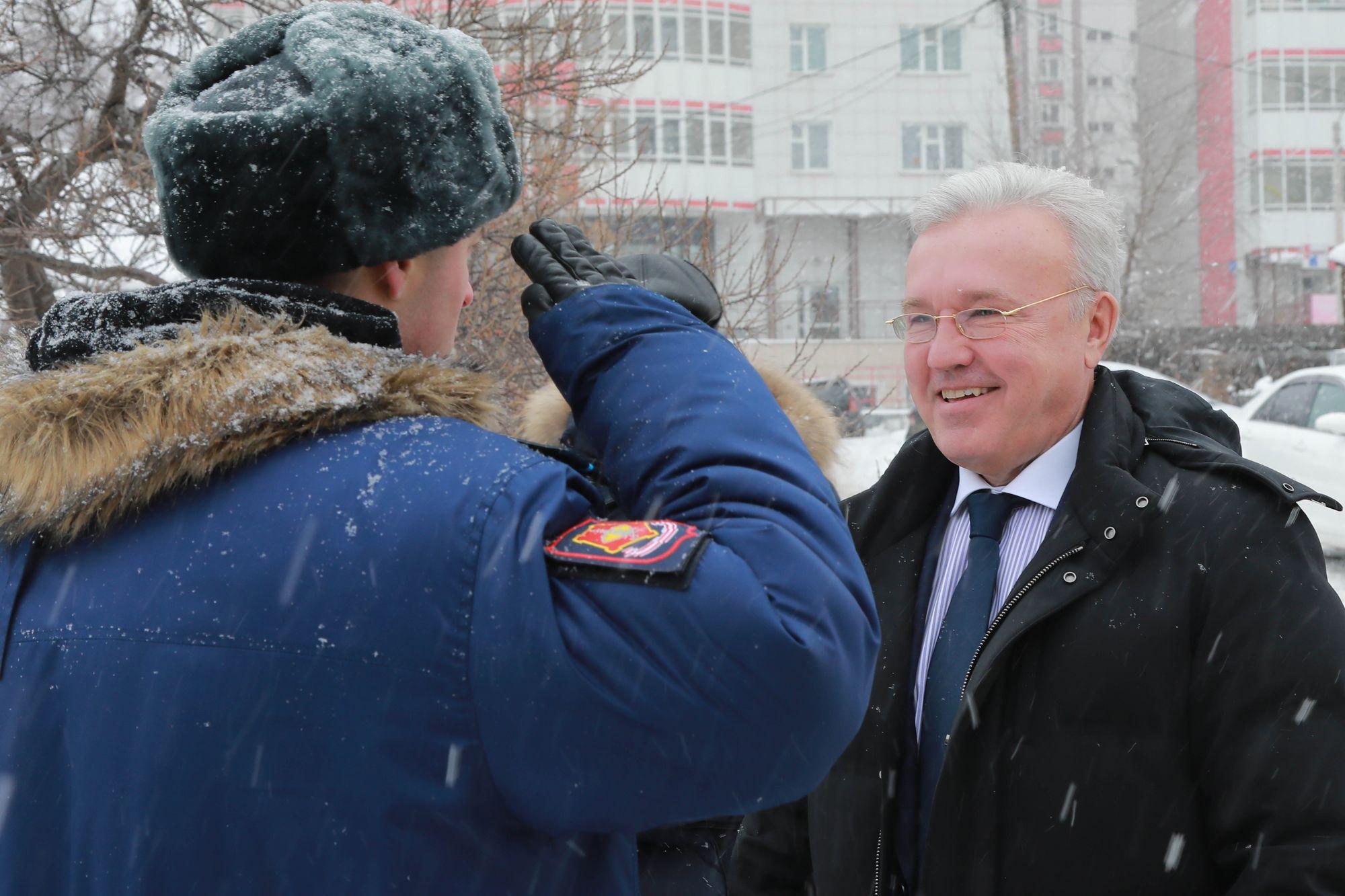 Губернатор Александр Усс поблагодарил красноярцев за инициативы в благоустройстве города