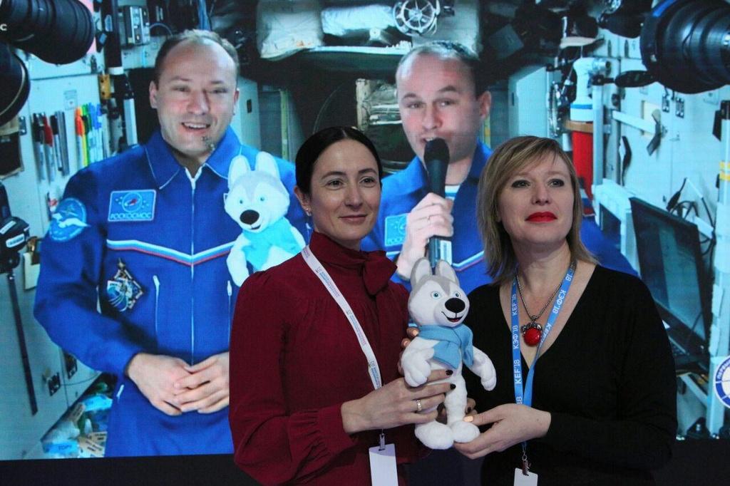 В Красноярске на КЭФ-2018 состоялась передача U-Лайки, которая побывала в космосе