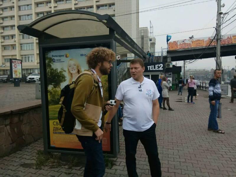 """Блогер Варламов """"не против пожить в Красноярске"""""""