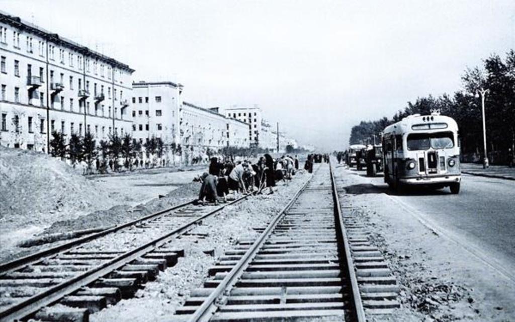60 лет назад отправился в рейс красноярский трамвай