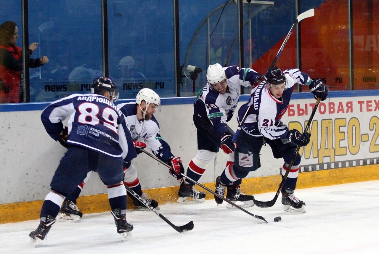 Красноярский ХК «Сокол» обыграл «Саров» и ведёт в серии