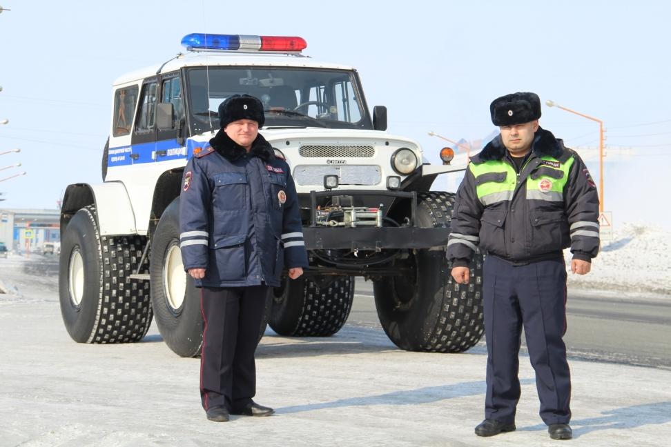 В Красноярском крае полицейские спасли норильчанина из «чёрной пурги»