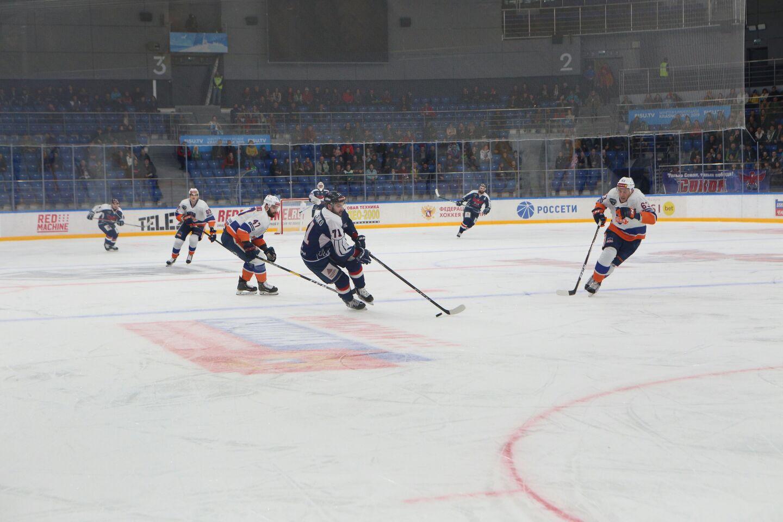 Красноярский «Сокол» одержал первую победу в 1/4 финала плей-офф ВХЛ