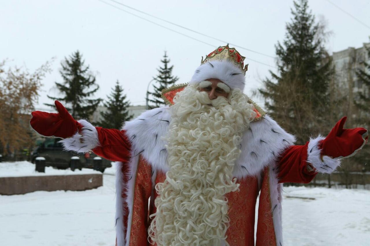 Где в Красноярске можно встретить Деда Мороза
