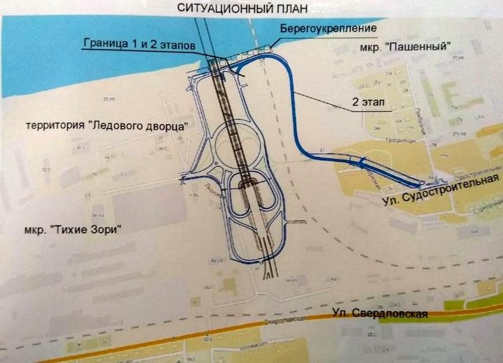 В красноярском микрорайоне Пашенный построят выход на Николаевский мост