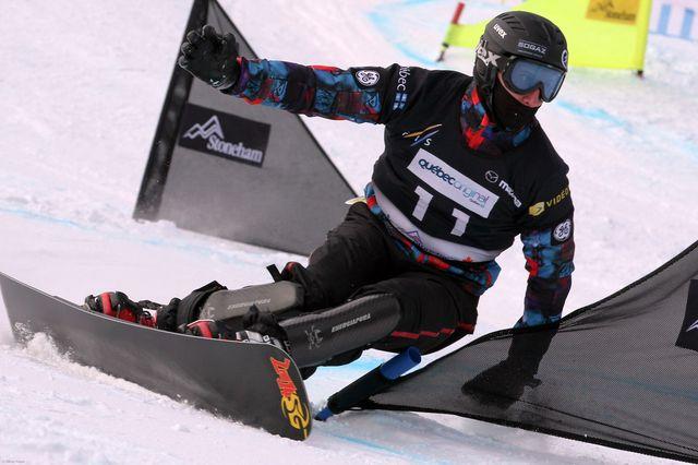 Красноярский сноубордист стал призёром Кубка России