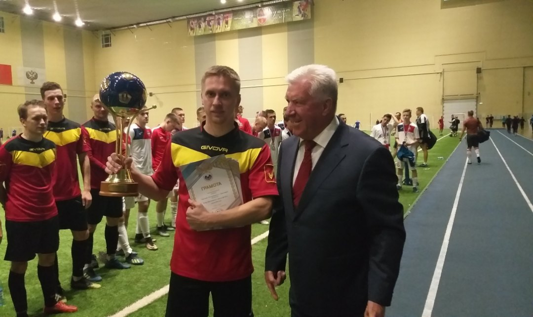 Кубок Красноярского края по футболу нашёл нового владельца