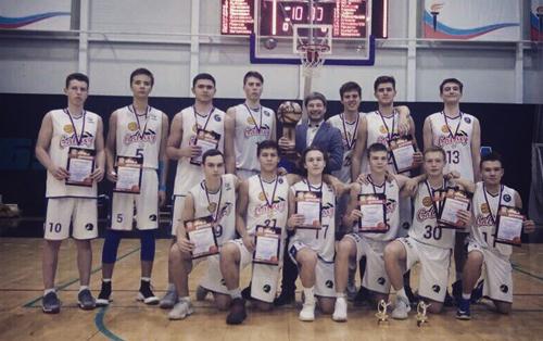 Красноярская баскетбольная команда Galaxy выиграла «Кубок Белова»