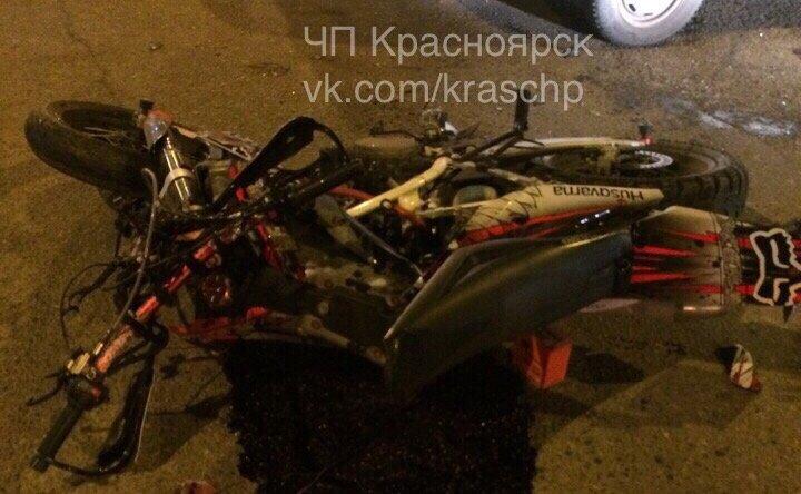 ГИБДД Красноярска составила рейтинг аварий с мотоциклами