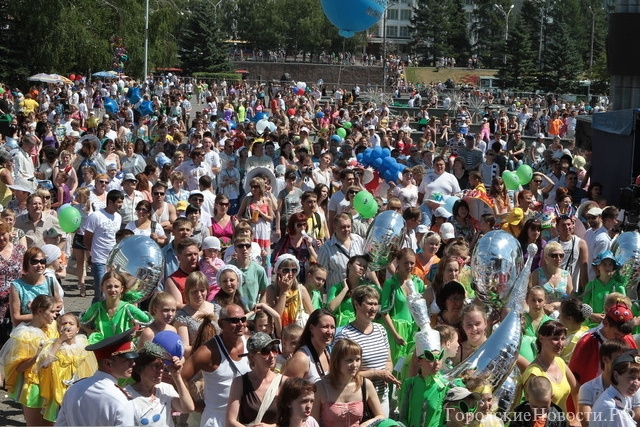 За год население Красноярска приросло на 7840 человек