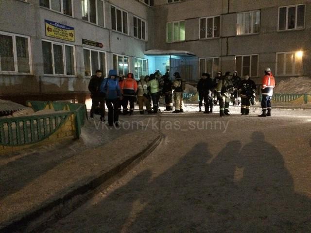 Красноярцы обсуждают в соцсетях пожар в Солнечном