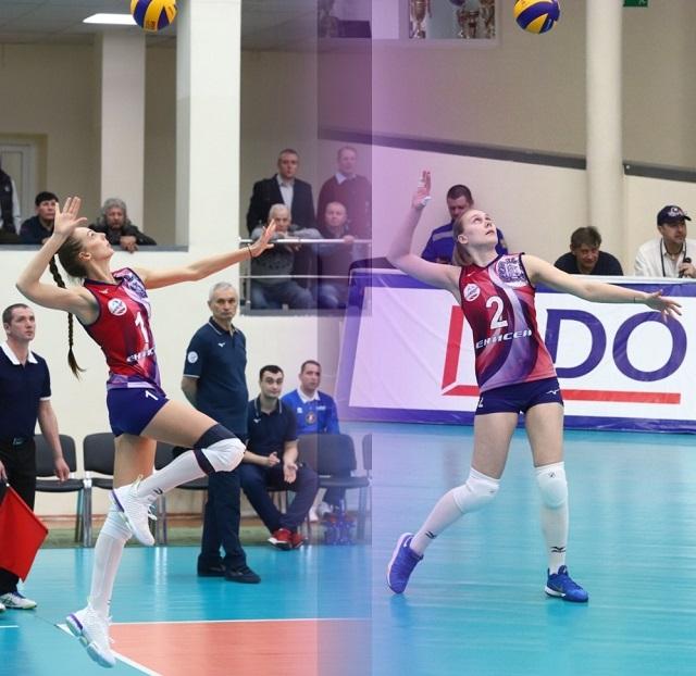 ЖВК «Енисей» официально расстался с двумя волейболистками