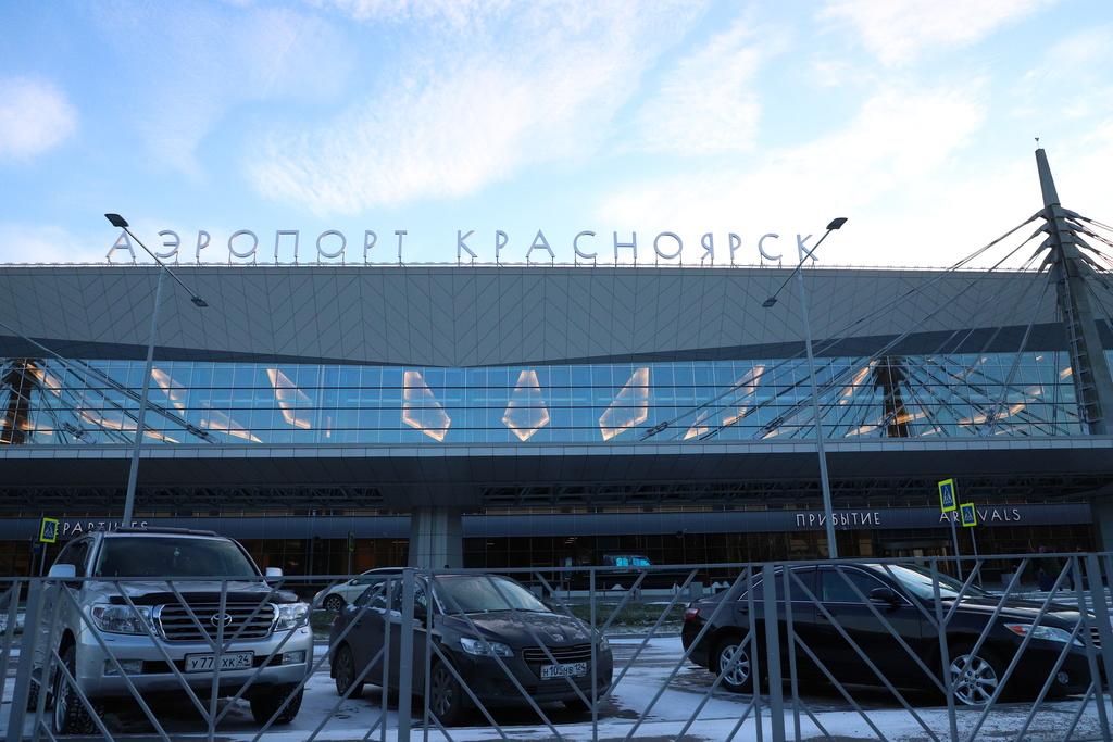 В Красноярском аэропорту травят насекомых и проверяют здоровье пассажиров