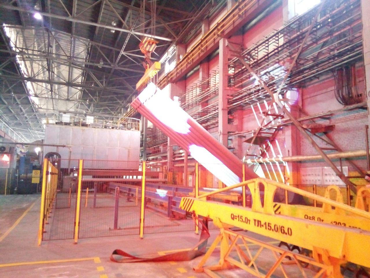 На Красноярском алюминиевом заводе запустили уникальный литейный комплекс