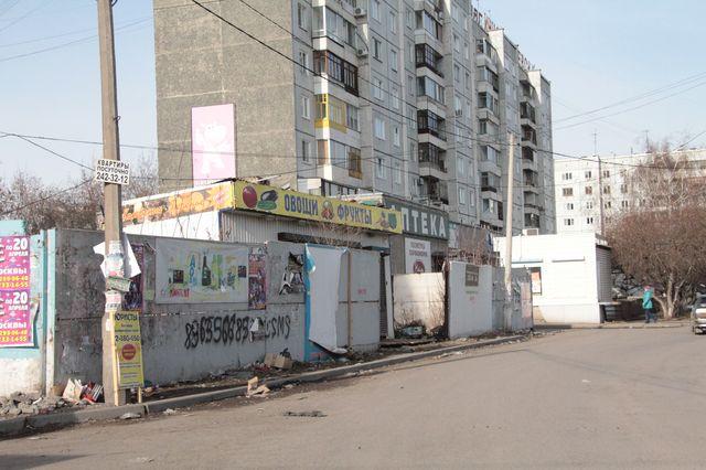 В Красноярске проверили, как предприниматели убирают территорию возле своих торговых точек
