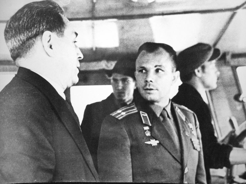 Визит Юрия Гагарина в Красноярск: где побывал человек-легенда
