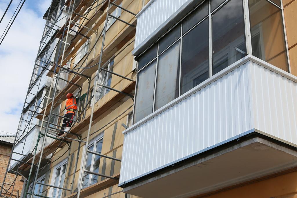 Историю Красноярска подчеркнут фасадом