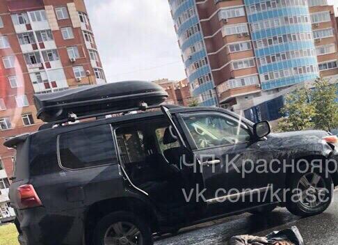 В Красноярске на Водопьянова сбили мужчину
