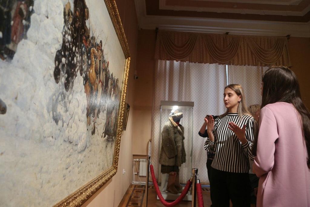 Красноярцев приглашают увидеть шедевры Сурикова и его современников