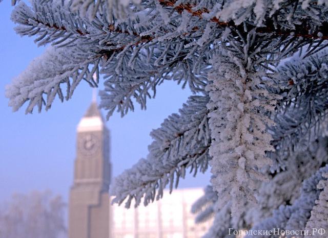 Синоптики обещают красноярцам на каникулы умеренный мороз