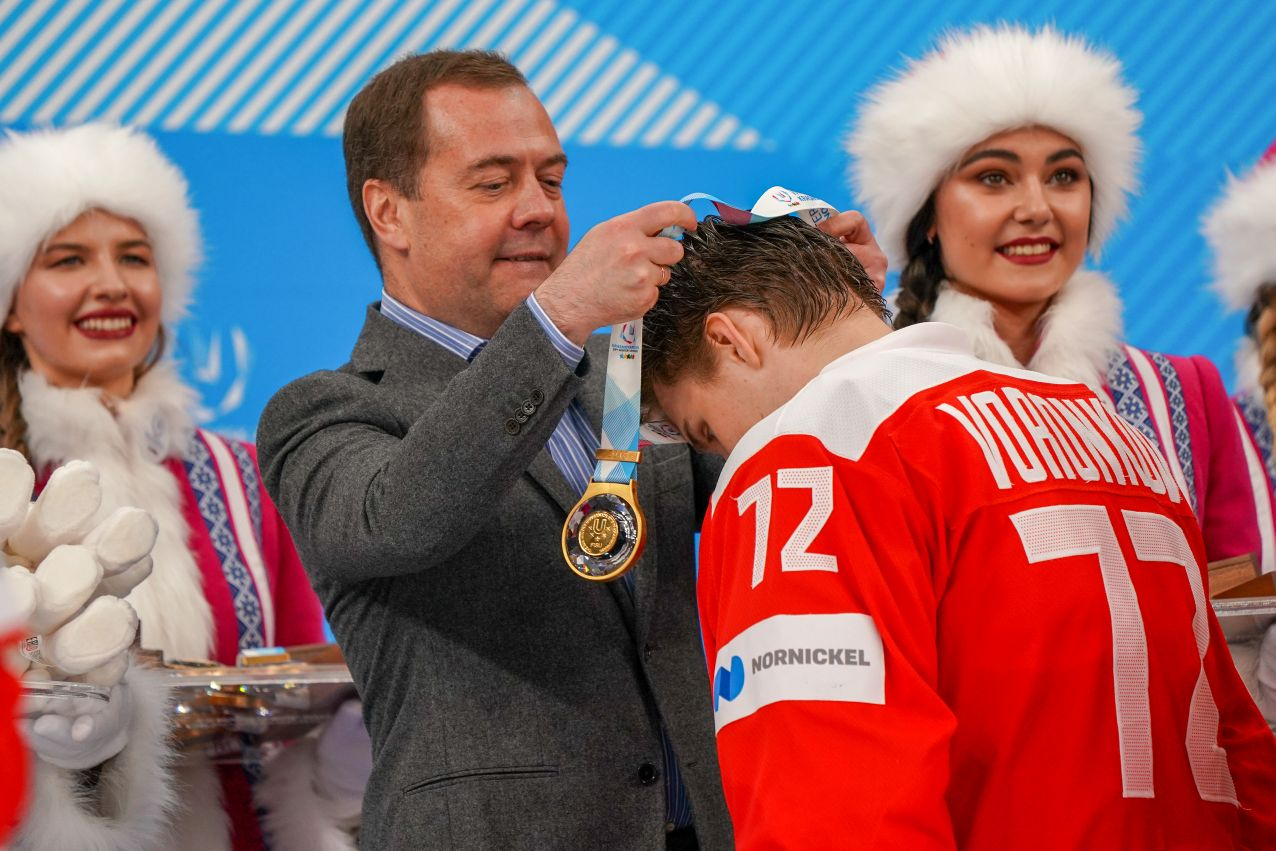 Дмитрий Медведев поздравил призёров универсиады в Красноярске