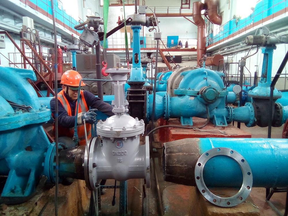 «КрасКому» на ремонт водозабора «Татышев» понадобятся только сутки