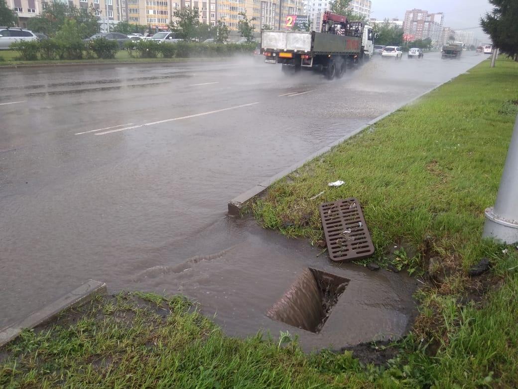 Вся техника вышла на улицы Красноярска для откачки воды | Новости | Городские новости. Красноярск