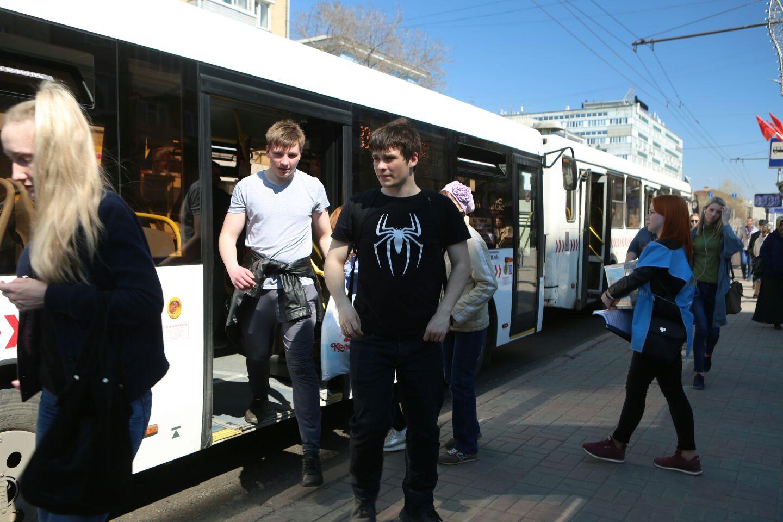Красноярские автобусы проверили на экологическую чистоту