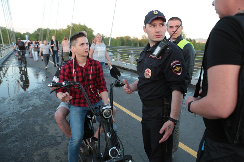 ГИБДД Красноярска напоминает: все велосипедисты обязаны соблюдать правила движения