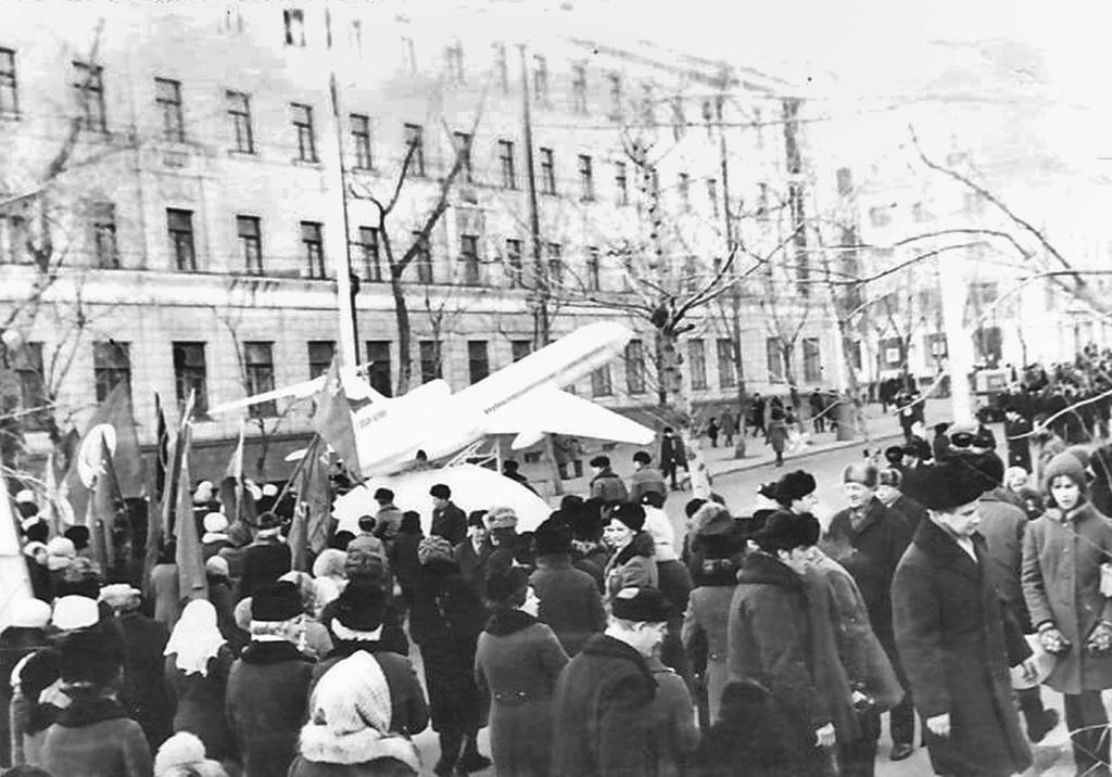 Как Красноярск ходил на демонстрации в советское время