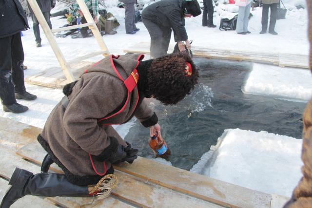 Где в Красноярске пройдут крещенские купания