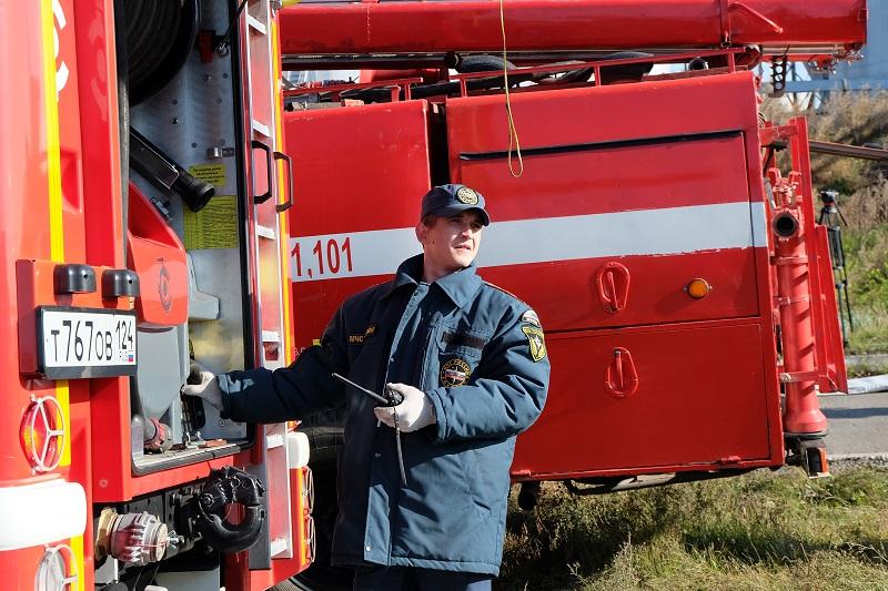 На территории Красноярского края опять начались пожары