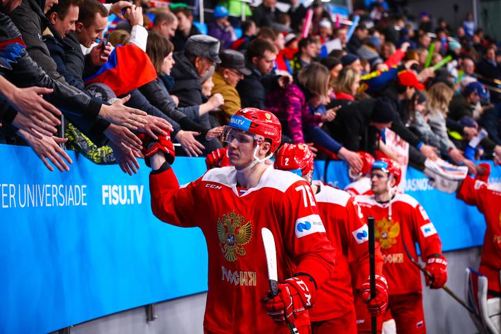Сборная России по хоккею вышла в финал Универсиады-2019