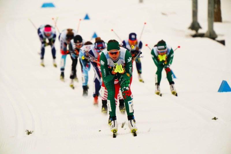 Российские лыжники в командном спринте взяли золото и серебро Универсиады