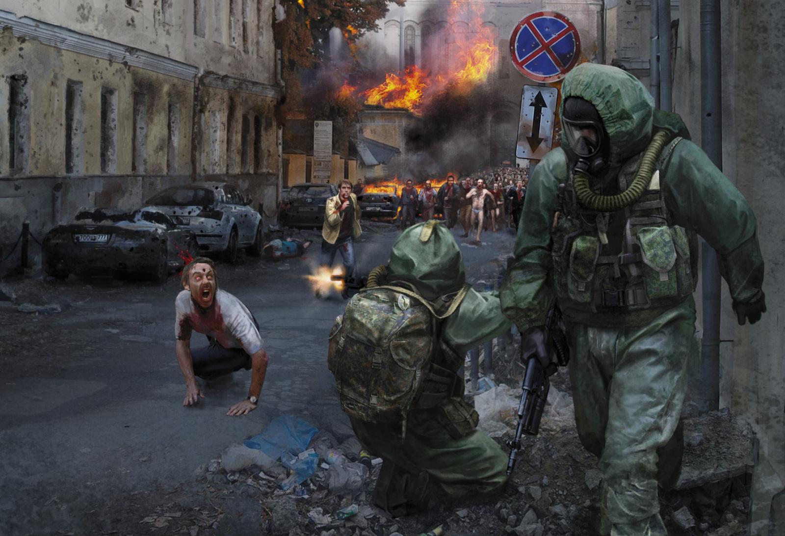 Картинки зомби апокалипсиса