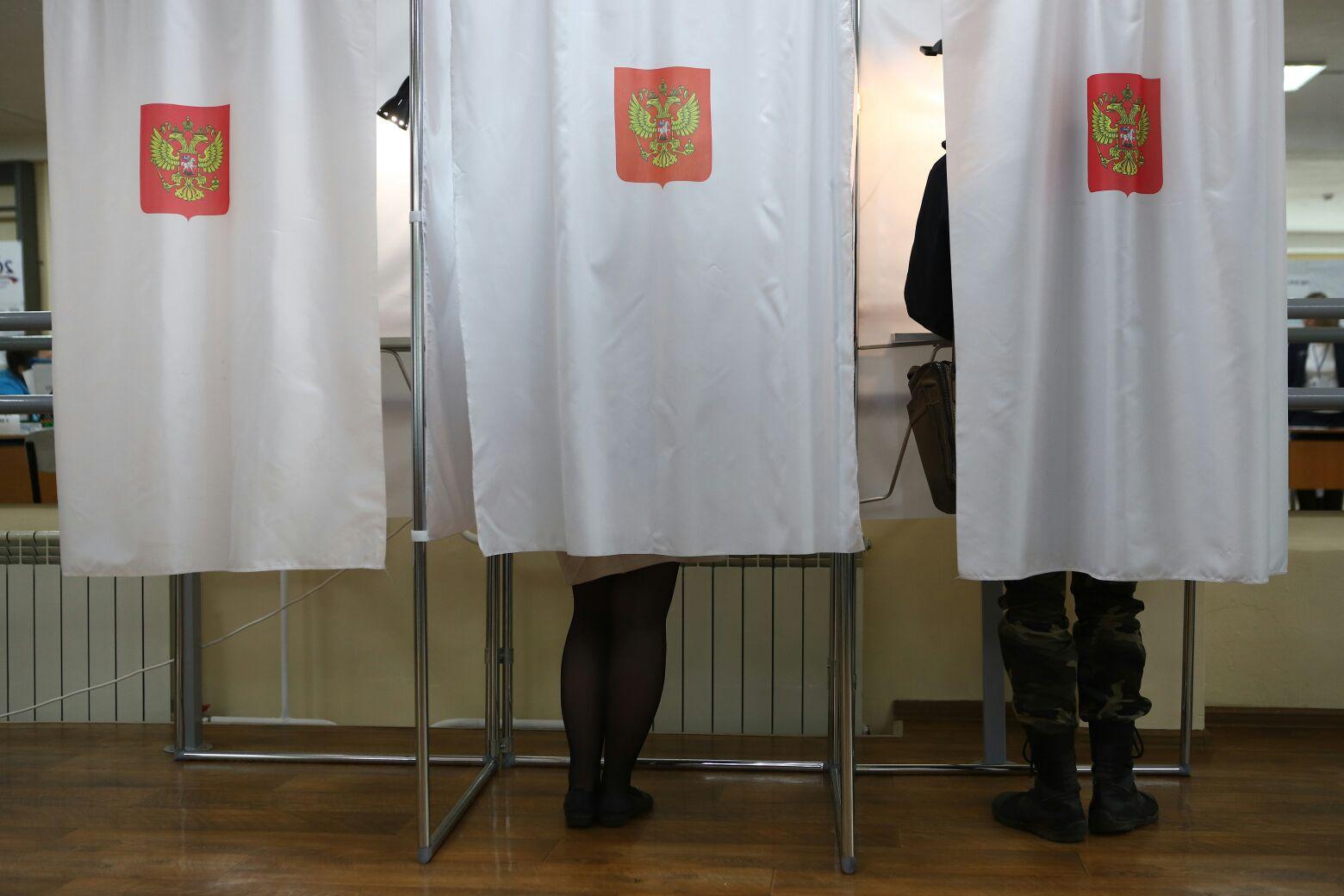 В Красноярске завершилось голосование по выборам депутатов горсовета и заксобрания