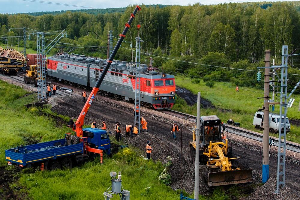 Начался ремонт самого сложного железнодорожного перегона Транссиба Кача – Снежница