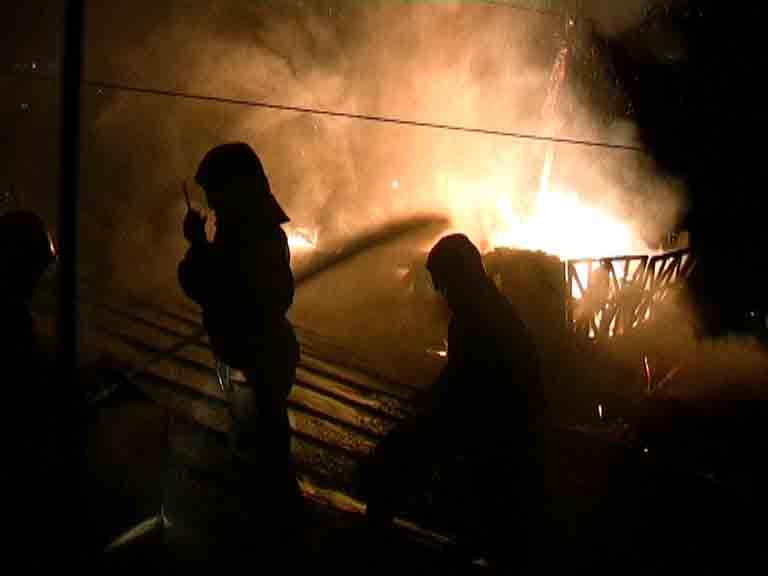 В Красноярском крае во время пожара погибли два ребёнка