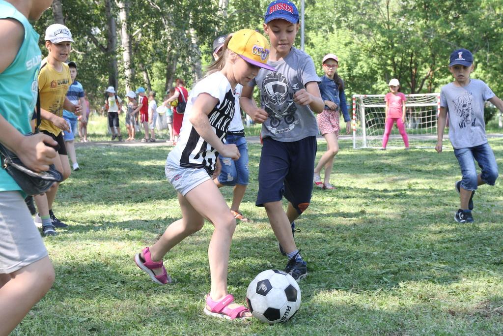 В Красноярске завершилась смена пришкольных лагерей