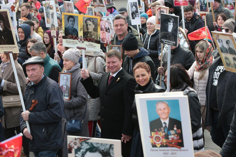 Мэр Красноярска рассказал о дедах — фронтовиках