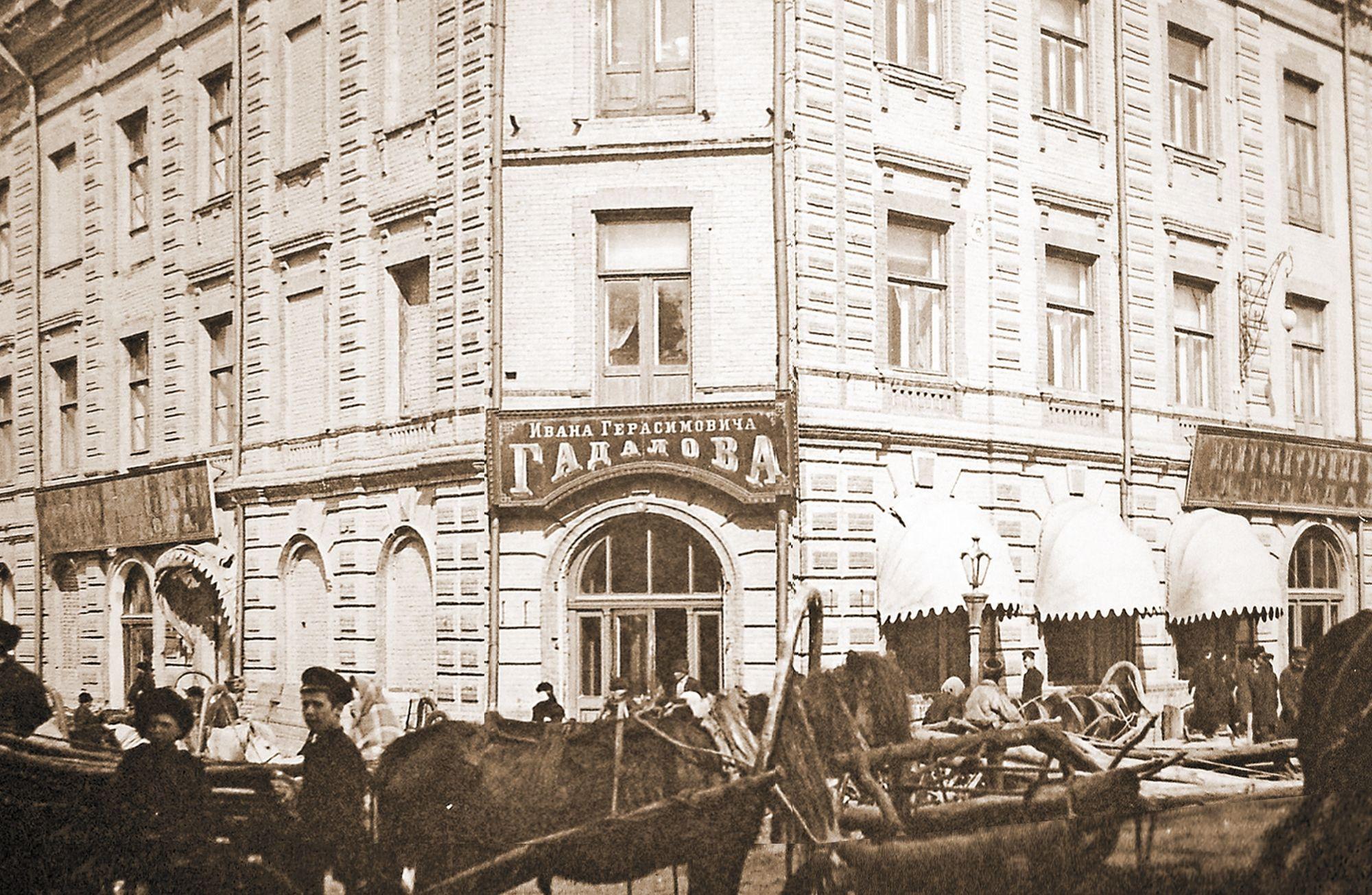 Как сохранился и изменился главный дом усадьбы торгового дома Гадалова в Красноярске