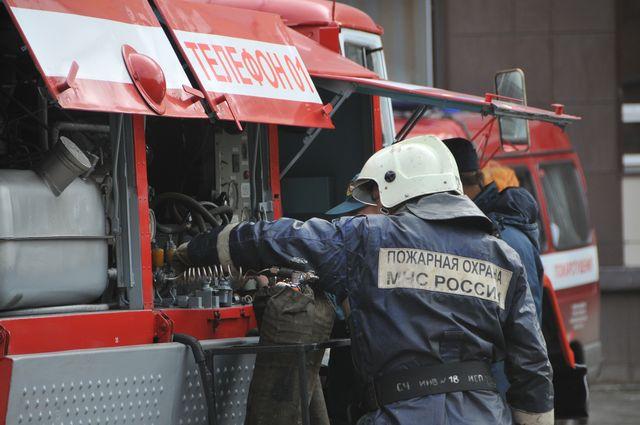 В Сосновоборске во время пожара в многоквартирном доме эвакуировали жильцов