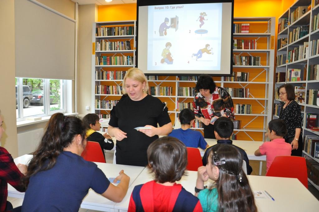 В красноярских библиотеках детям-мигрантам помогают учить русский язык