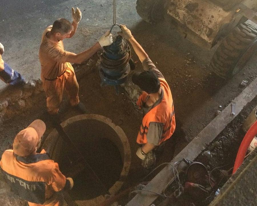 Красноярские ливнёвки отремонтируют до 30 октября