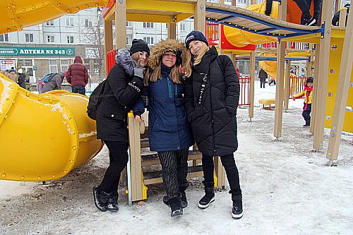 В Красноярске открылся сквер «Молодёжный»