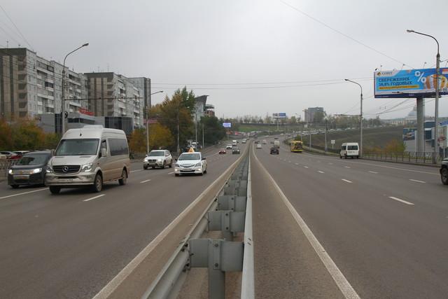 Дорожная кампания в Красноярске начнётся раньше, чем обычно