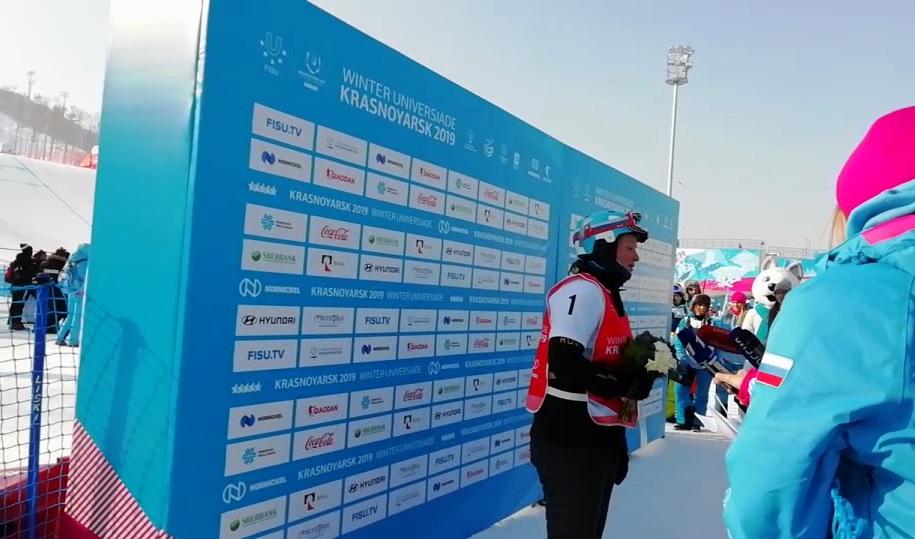 Первое красноярское золото Универсиады-2019 взяла Кристина Пауль