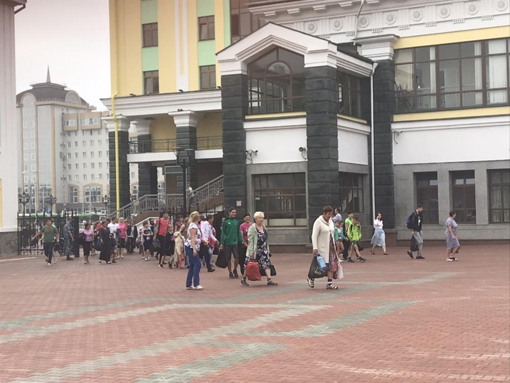 Жители Ачинска возвращаются домой (видео)