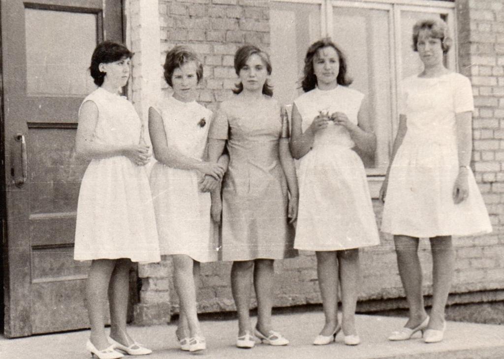 Выпускной в Красноярске 55 лет назад
